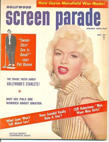 Jayne Mansfield - Hollywood Screen Parade Magazine [United States] (September 1957)