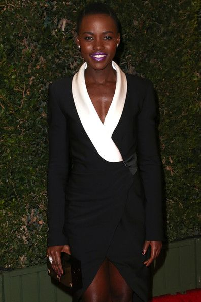 Lupita Nyong'o Arrivals at the Governors Awards in Hollywood