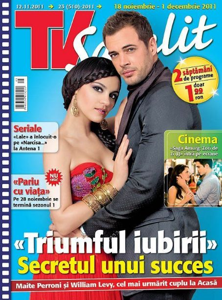 Maite Perroni, William Levy - TV Satelit Magazine Cover [Poland] (12 November 2011)