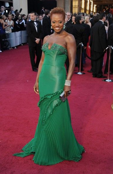 Viola Davis At The 84th Annual Academy Awards (2012)