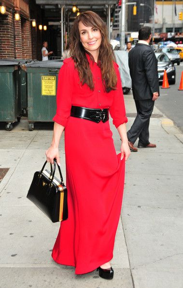 Noomi Rapace At The 'Late Show With David Letterman'