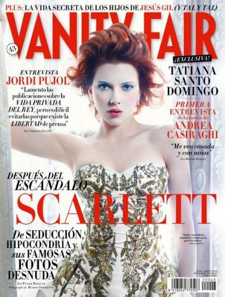 Scarlett Johansson - Vanity Fair Magazine Cover [Spain] (March 2012)