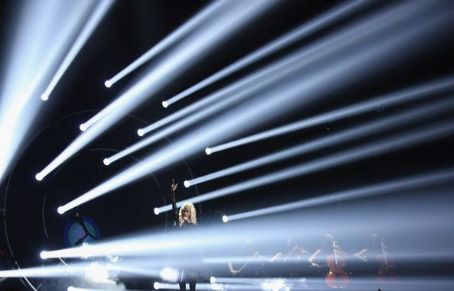 Nicki Minaj performs onstage during the 2012 BET Awards at The Shrine Auditorium on July 1, 2012 in Los Angeles