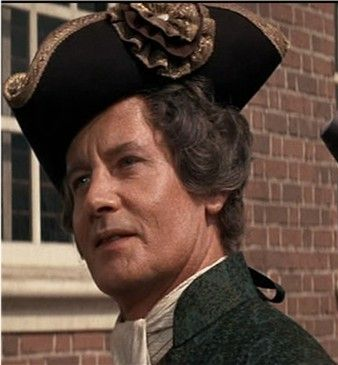DONALD MADDEN AS JOHN DICKINSON IN THE 1972 MOVIE MUSICAL ''1776''