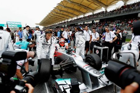 Michael Schumacher - Formula One Malaysian Grand Prix 2012