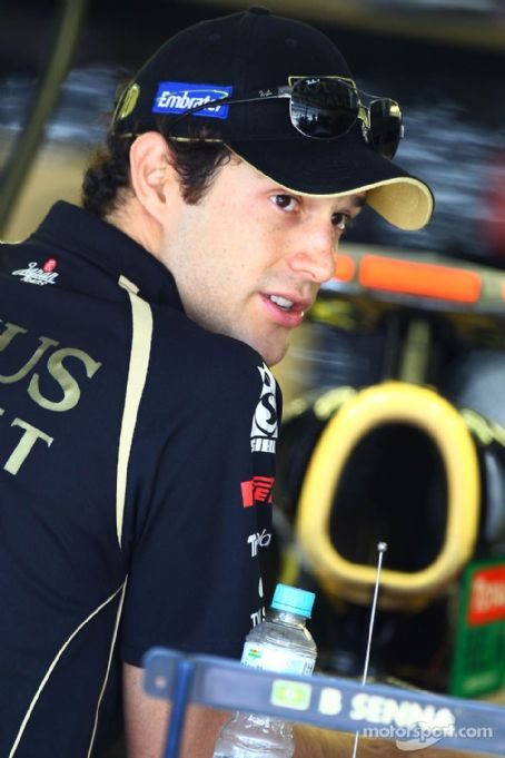 Bruno Senna at  2011 Brazilian GP