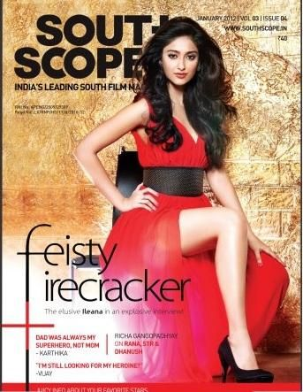 Ileana  - South Scope Magazine Pictorial [India] (January 2012)