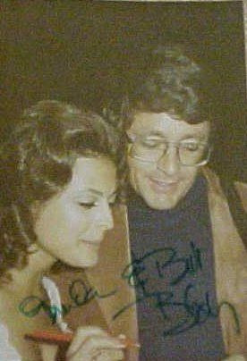 Brenda Benet  and Bill Bixby Signing Autographs For A Fan