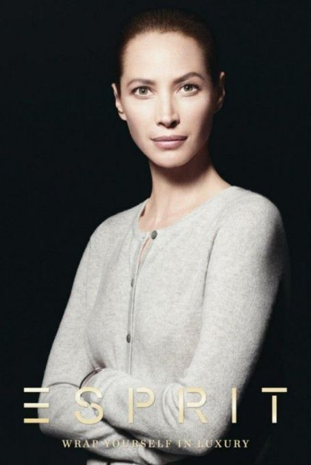 Christy Turlington Esprit Holiday 2012 Campaign