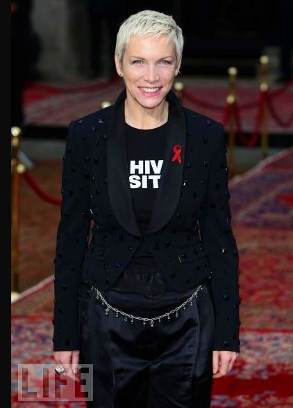Annie Lennox Honored With Lifetime Achievement Award