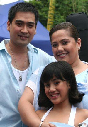 Ruby Rodriguez and Mark Aquino