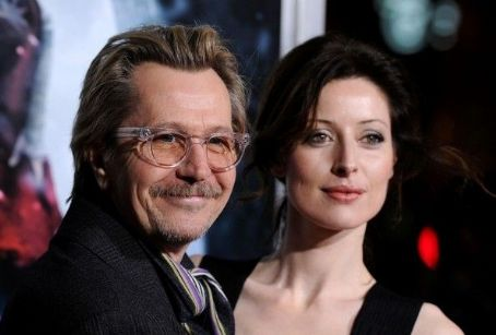 Gary Oldman and Alexandra Edenborough - 2011 Empire Film Awards