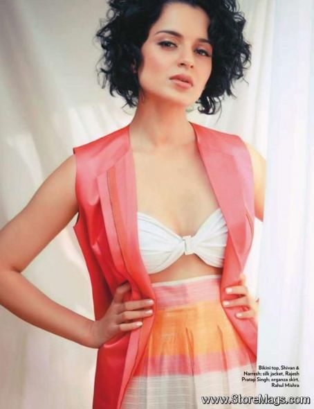 Kangana Ranaut - Marie Claire Magazine Pictorial [India] (January 2012)