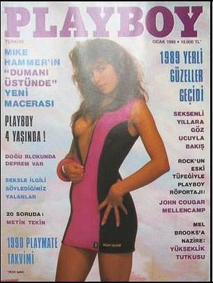 Shawn Grzych - Playboy Magazine Cover [Turkey] (January 1990)