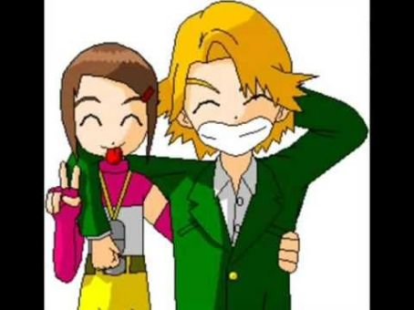 Digimon: Digital Monsters matt and kari