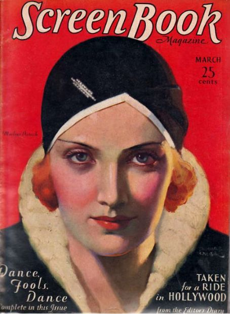 Marlene Dietrich - Screen Book Magazine [United States] (March 1931)