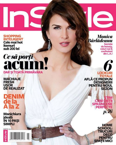 Monica Barladeanu  InStyle Romania March 2012