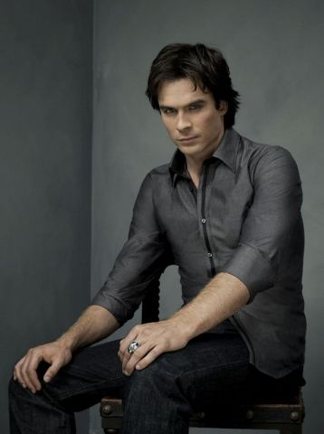 Damon Salvatore Ian Somerhalder as  in Vampire Diaries Second Season Photoshoot (2010)