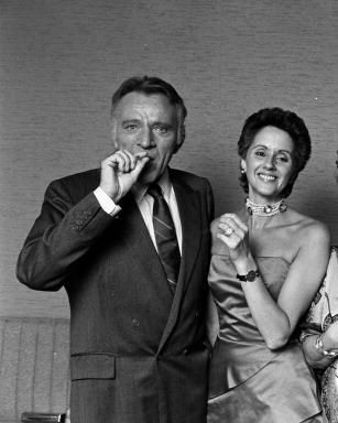 Sally Hay  & Richard Burton