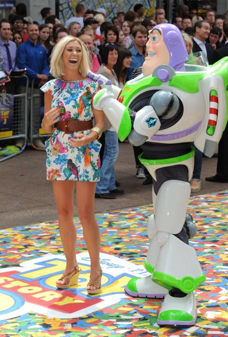 Jenny Frost - Toy Story 3 UK Premiere London - July 18, 2010