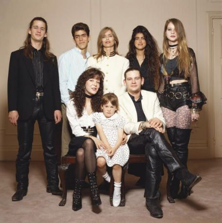Zak Starkey Starkey Family portrait, ca. 1991