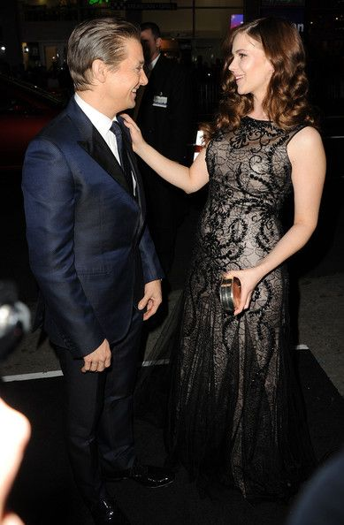 Pihla Viitala  and Jeremy Renner on The Premiere of the movie Hansel & Gretel: Witch Hunters (2013)