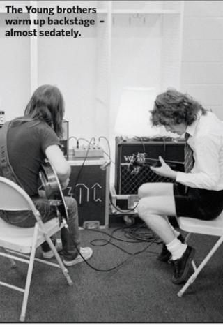Malcolm Young Angus Young and Malcom Young