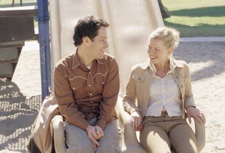 The Shape of Things Paul Rudd (left) and Gretchen Mol (right)