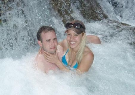 Jodi Arias  and Travis Alexander Frolic in a Swimming Pool