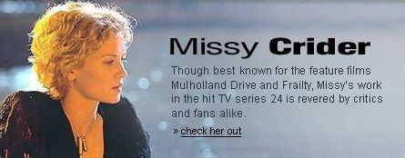 Missy Crider On the set photos