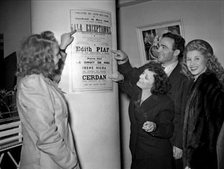 Édith Piaf - Marcel Cerdan and Edith Piaf