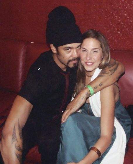 Michael Franti  and Deborah Bassett