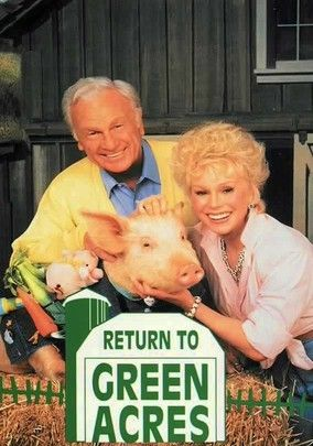 Eddie Albert and Eva Gabor Green Acres Reunion