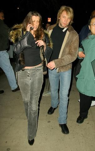 Dorothea Hurley - Jon Bon Jovi and wife Dorothea