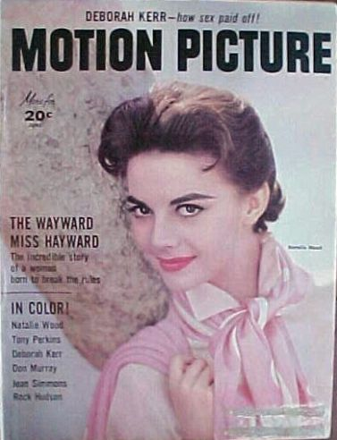 Natalie Wood - Motion Picture Magazine Cover [United States] (June 1957)