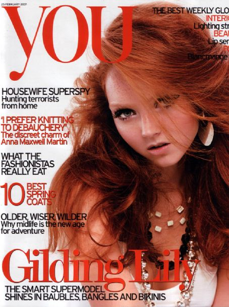 Lily Cole - You Magazine [South Africa] (25 February 2007)