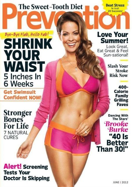 Brooke Burke - Prevention Magazine Cover [United States] (June 2012)