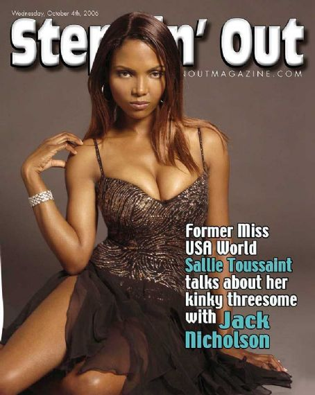 Sallie Toussaint - Steppin' Out Magazine Cover [United States] (4 October 2006)