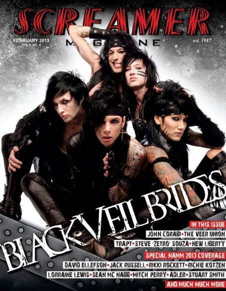 Ashley Purdy , Jake Pitts, Christian Coma, Jeremy Miles & Andy Biersack