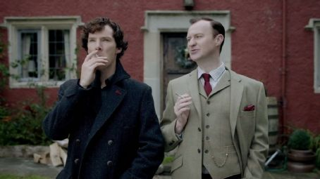 Mark Gatiss Sherlock - His Last Vow (2014)