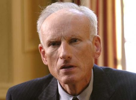 James Rebhorn  star as Winston Garvey in Screen Media Films' Spinning Into Butter.