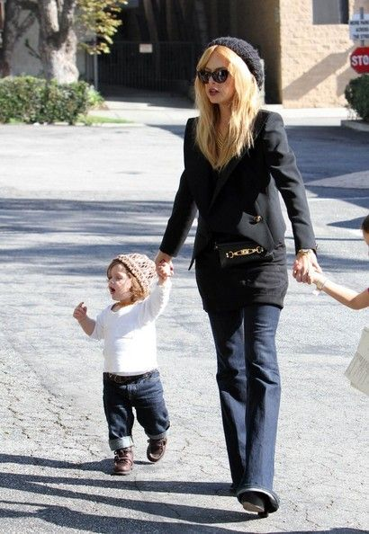 Rachel Zoe: grabs lunch at Hugo's in West Hollywood