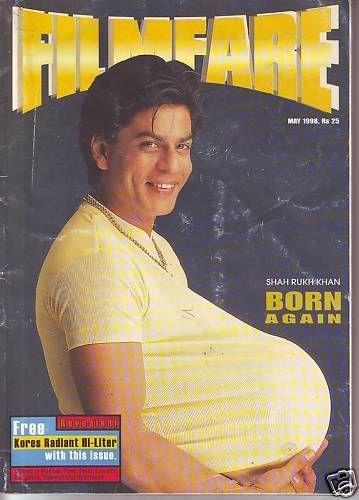 Shahrukh Khan - Filmfare Magazine [India] (May 1998)