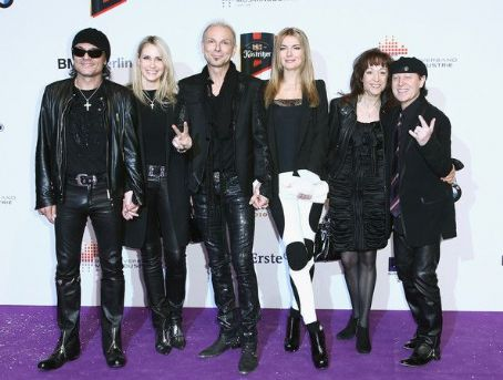 Klaus Meine - The Scorpions and their wives