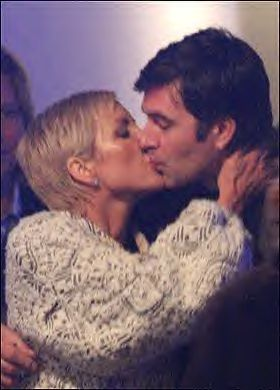 Heather Mills and Jamie Walker