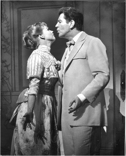 Barbara Cook ROBERT PRESTON, BARBARA COOK, THE MUSIC MAN 1957