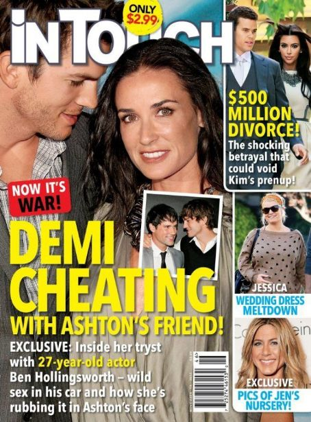 Demi Moore - In Touch Magazine Cover [United States] (14 November 2011)