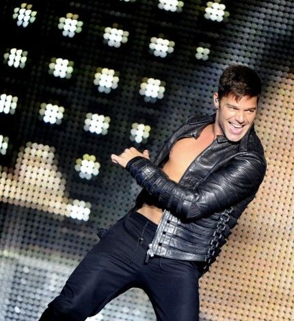 Ricky Martin performs at the Heineken Music Hall in Amsterdam, Holland. July 10, 2011
