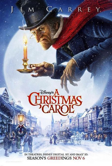 Christmas JIM CARRY IN ''A CHRISTMAS CAROL'' 2009