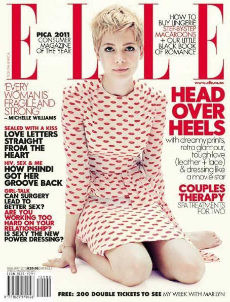 Michelle Williams - Elle Magazine Cover [South Africa] (February 2012)